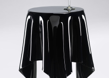 Ghostie Black Side Table