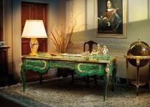 Glittering Malachite magic for the Mediterranean Home Office