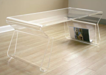 clear furniture. Style Meets Functionality Clear Furniture E