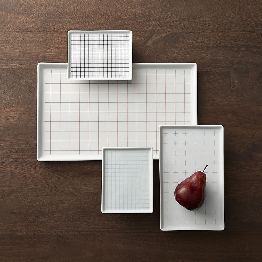 Grid platters from CB2