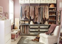 IKEA Algot Closet offers the perfect storage solution 217x155 8 Useful Closet Hacks to Tidy Up Your Wardrobe on the Cheap