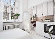 Ingenious corner kitchen makes wonderful use of small space