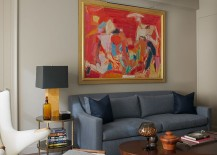 Contemporary New York Apartment with Chic Midcentury Vibe