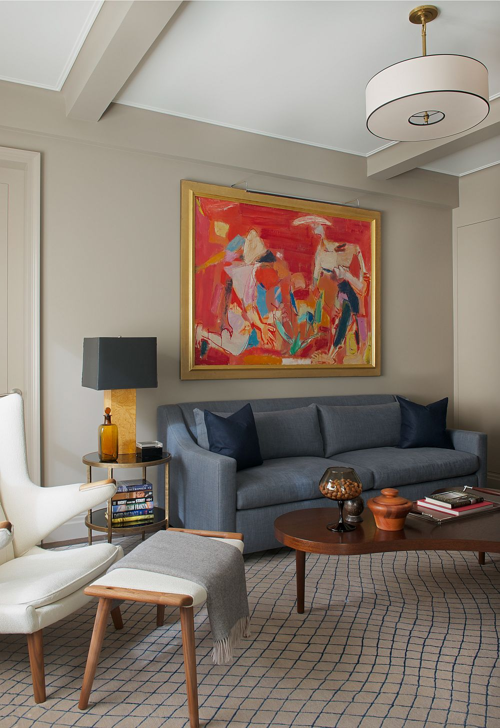 old new york apartments interior.  Contemporary New York Apartment with Chic Midcentury Vibe