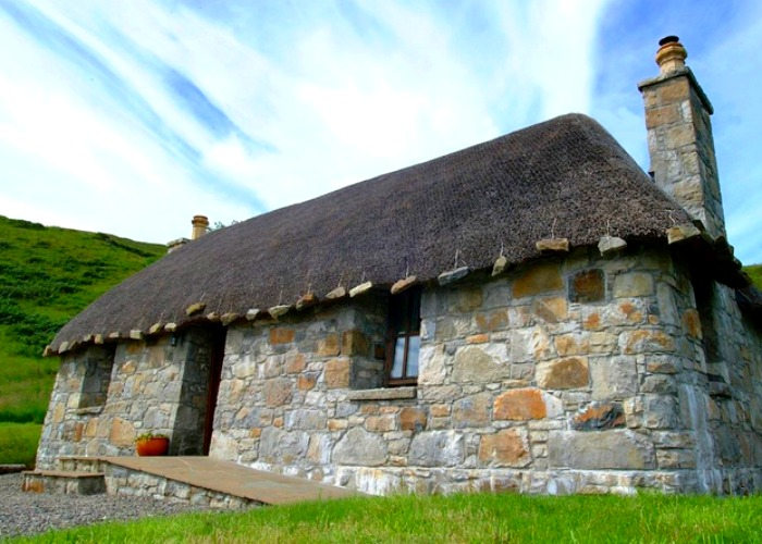 Rebuilt in the 1990s, this cottage has stood for hundreds of years