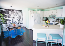 Kitchen and dining room renovation of Laura Gummerman 217x155 Artistic Kitchens: 10 Ideas for Unique Kitchen Renovations