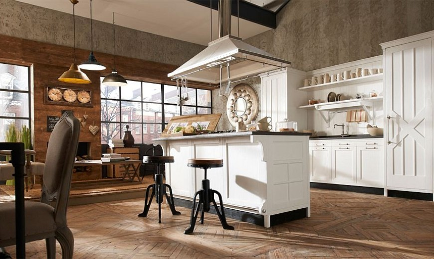 Kreola: Exclusive Italian Kitchen with Modern Comfort and Vintage Elegance