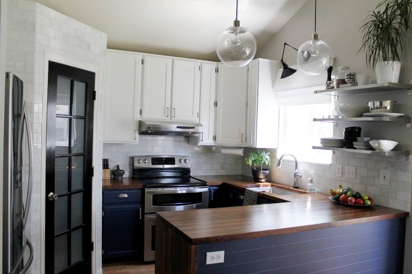 Kitchen renovation from Chris Loves Julia