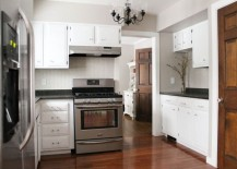 Kitchen renovation from White House Black Shutters