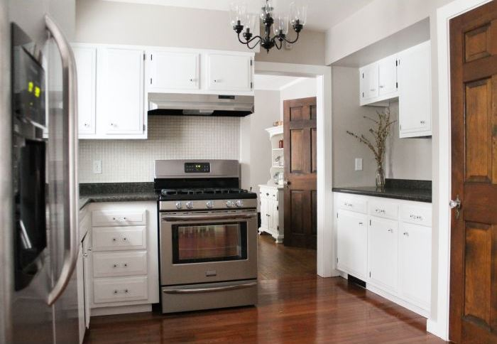Kitchen renovation from White House Black Shutters