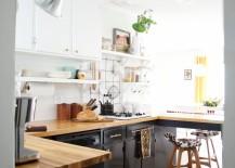 Kitchen renovation of A Beautiful Mess blogger Mandi Johnson