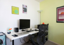 LINNMON ADILS desk setup from IKEA