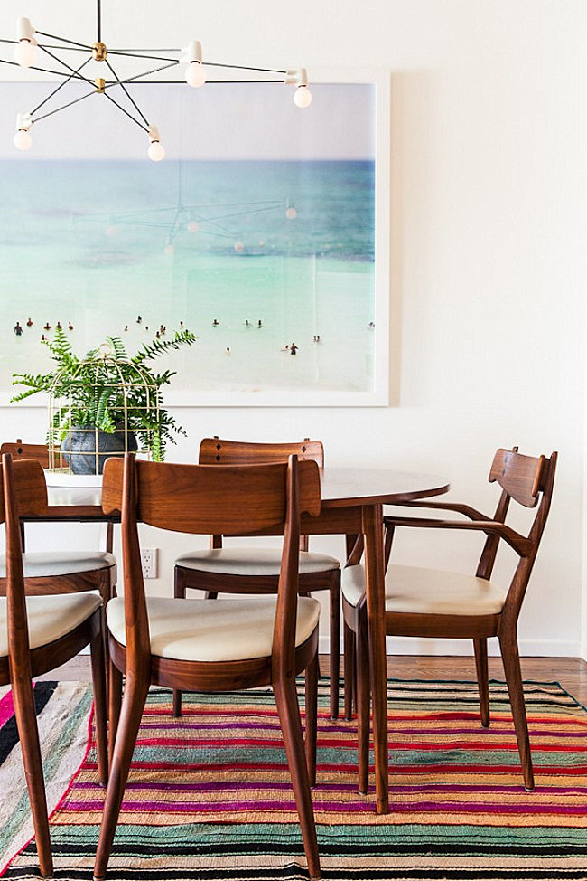 Dining room of Design Love Fest blogger Bri Emery