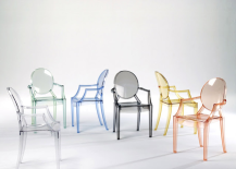 Louis Ghost Chairs in Assorted Colors