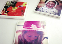 Make your own photo coaster