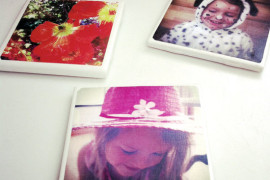Make your own photo coaster  8 DIY Mother's Day Gifts You Can Make Yourself Make your own photo coaster 270x180