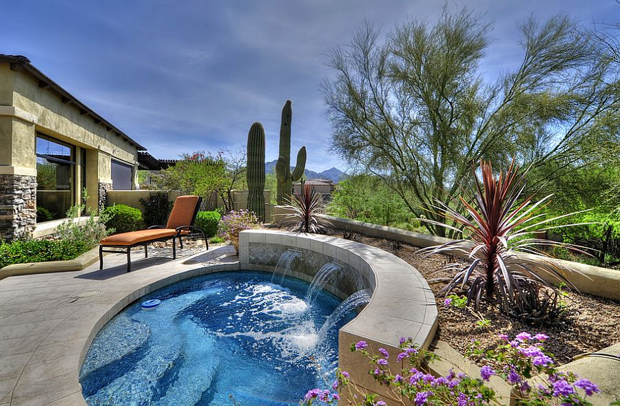 Pool Designs With Spa 23+ small pool ideas to turn backyards into relaxing retreats