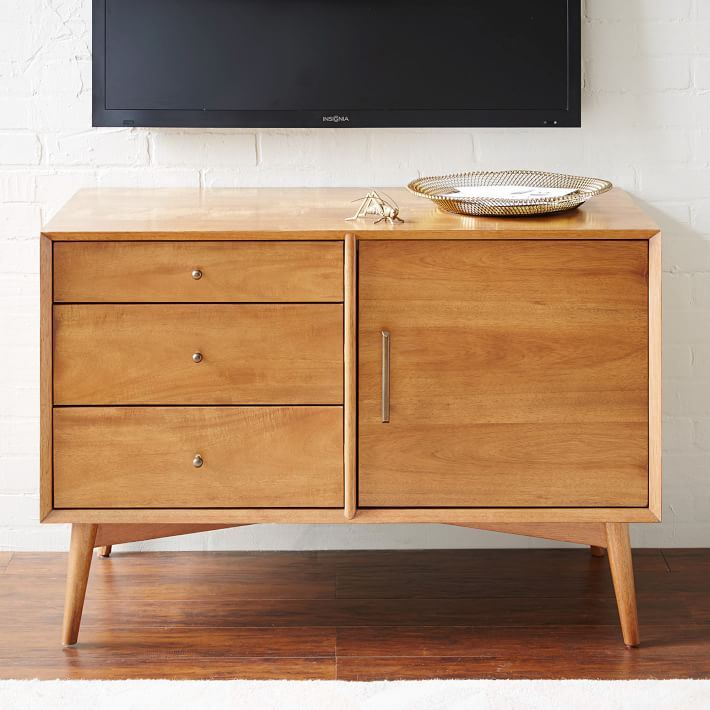 Media console from West Elm