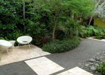 Miami yard with a tropical border 217x155 Garden Landscaping Ideas for Borders and Edges