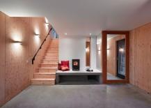 Minimal and elegant design of the interior