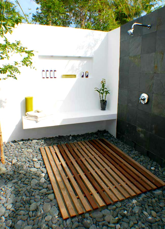 summer shower showers fresh outdoor ideas for the cool hot of ahead
