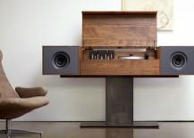 Modern Record Console