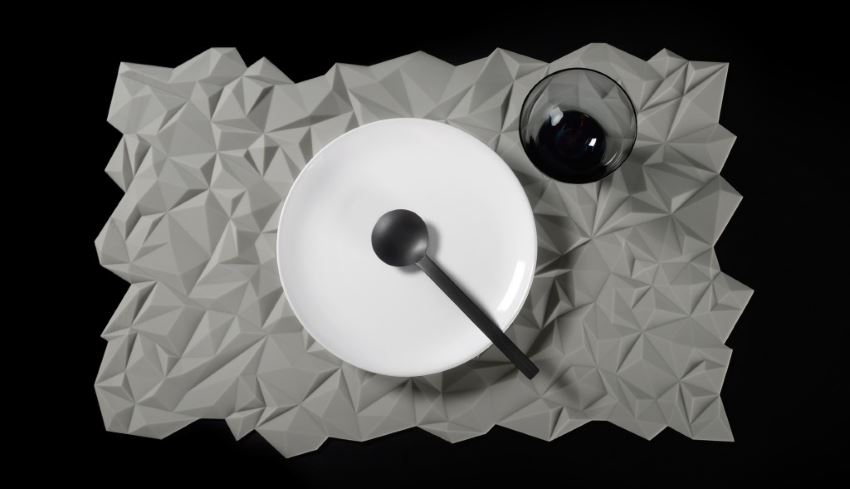 Modern placemat from Finell