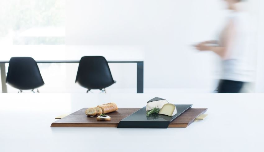 Modern serving tray from Finnel