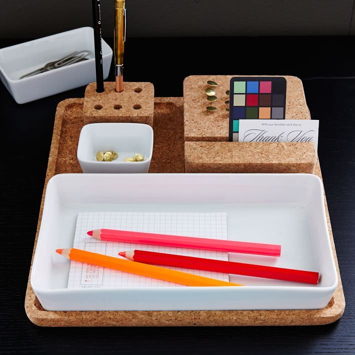Modular organization tray from West Elm