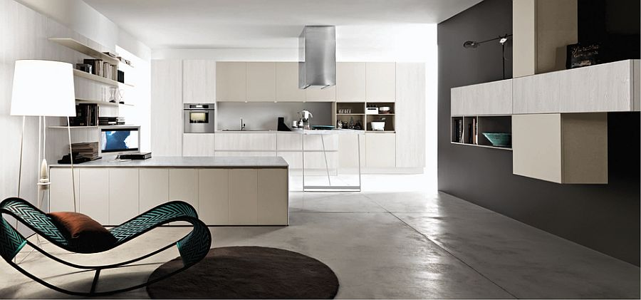 Modular units of Kora allow you to design a kitchen that grows with your needs