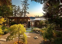 Natural canopy around the lovely Saturna Island Retreat 217x155 Ocean Views and a Tranquil Private Beach Await at Saturna Island Retreat