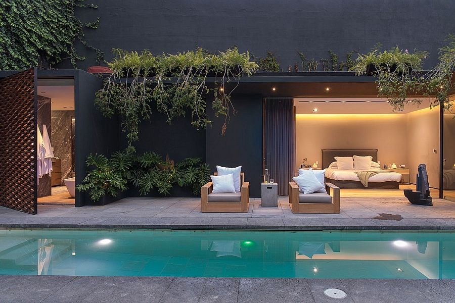 Natural greenery adds another dimension to the captivating landscape