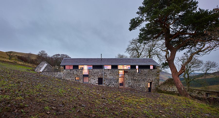 Old mill in UK turned into a lovely modern home