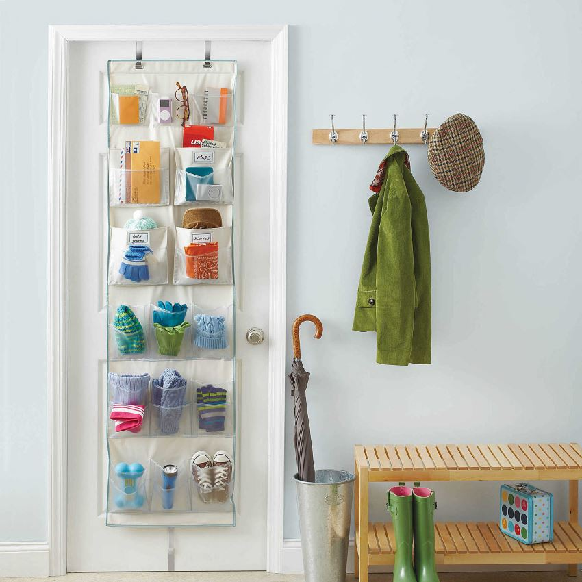 Over-the-door organizer from Bed, Bath & Beyond