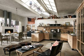 Panamera: Traditional Kitchen Elements Meet Casual Cosmopolitan Style