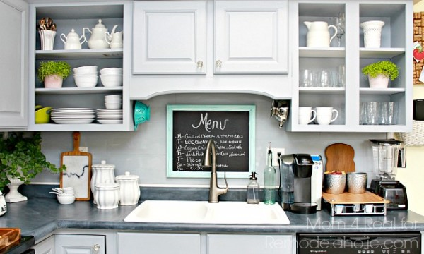 View In Gallery Peel And Stick Vinyl DIY Backsplash