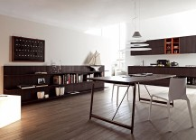 Perfect kitchen design for the open plan living area