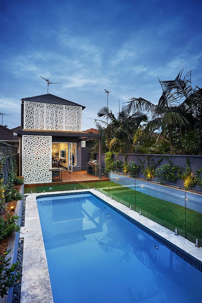 Pool and backyard of the gorgeous Sydney Residence