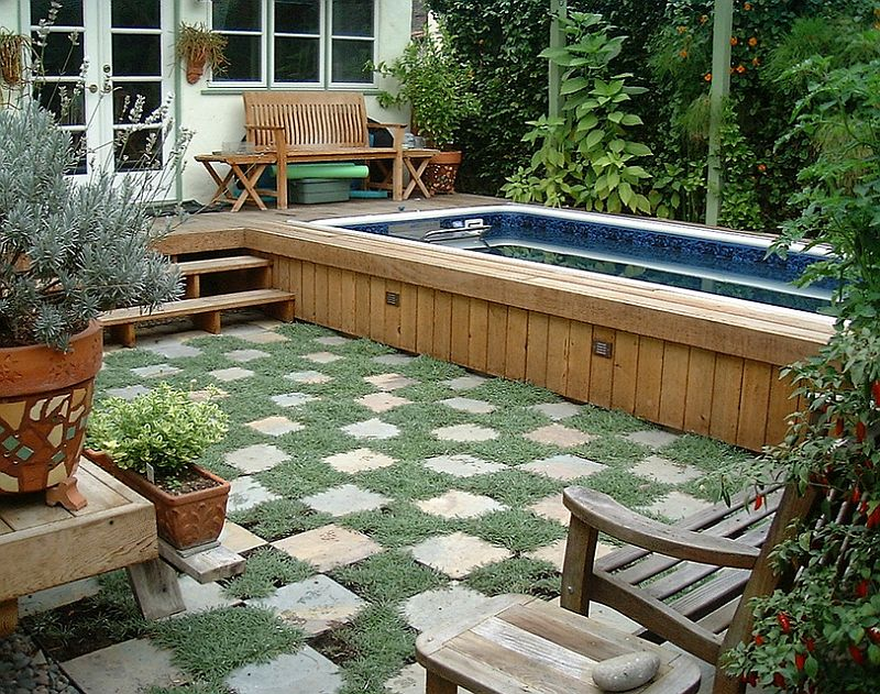 Above Ground Swimming Pool Design ... Pool design that keeps things simple and understated [Design: Lost West  Landscape Architects]