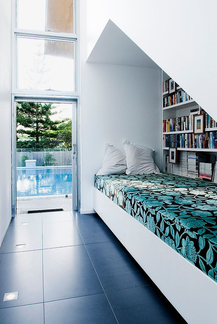 Reading nook that is also perfect for an afternoon siesta [Design: Push Pty]