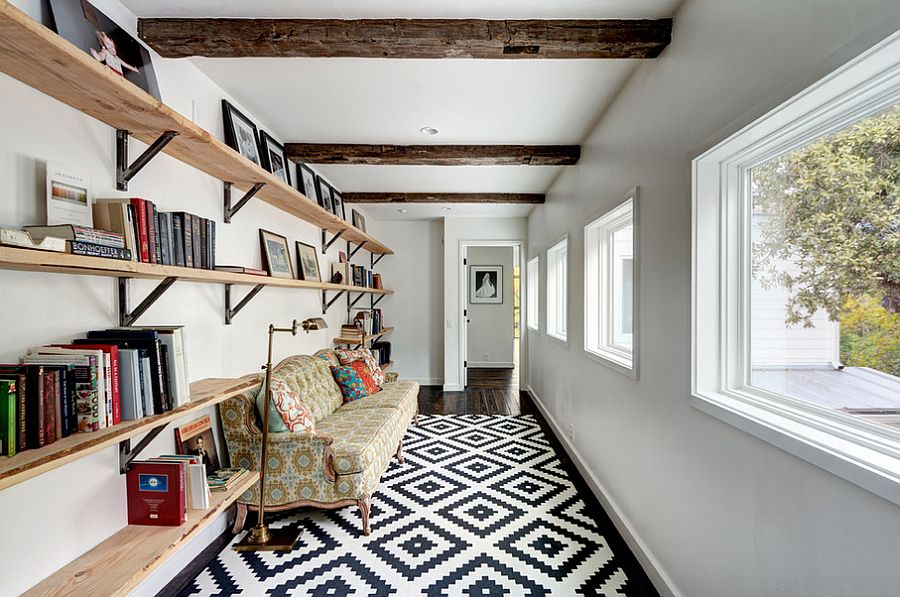 Reading nooks need not always be relegated to corners
