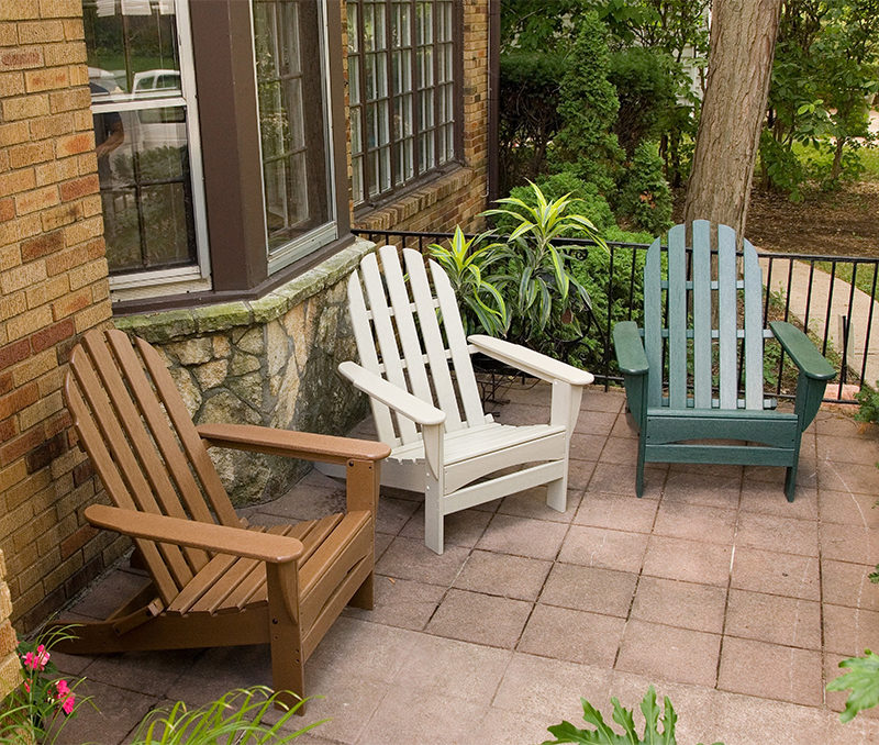 Attractive View In Gallery Recycled Plastic Adirondack Chair