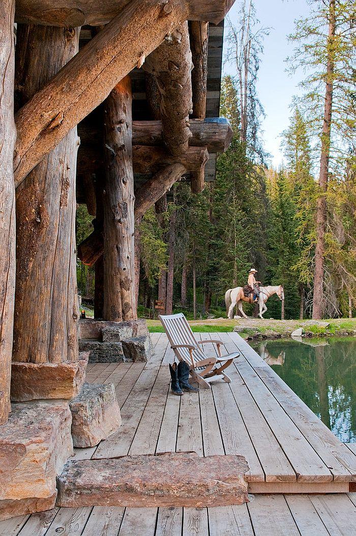 idyllic headwaters camp cabin   joseph architects