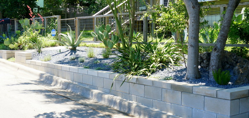 Retaining wall DIY project