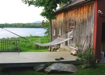 Rustic getaway perfect for a lazy summer afternoon 217x155 Summer Spirit: 25 Cool Outdoor Hangouts with a Hammock!