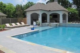 Outdoor Design Trend 23 Fabulous Concrete Pool Deck Ideas