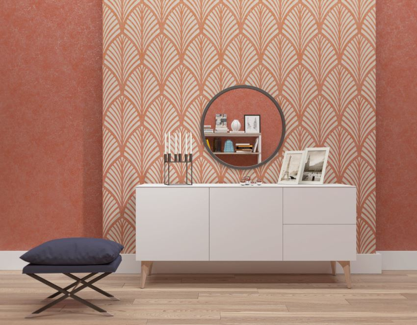 Seamless wall stencil from ArtLabNY