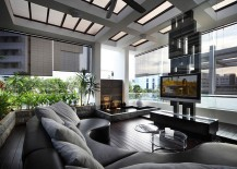 Sleek-contemporary-living-room-with-a-cool-water-feature-217x155