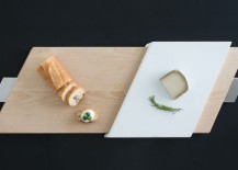 Slide serving tray by Finell