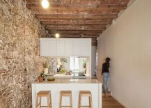 Small apartment renovation makes smart use of available space 217x155 Nineteenth Century Barcelona Apartment Gets a Trendy Modern Upgrade